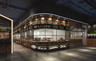 湘当有味湘菜餐饮空间设计