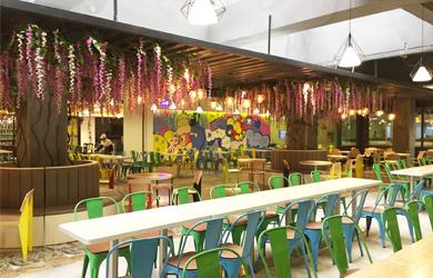 长沙食堂设计,中南林业科技大学 | 食堂设计