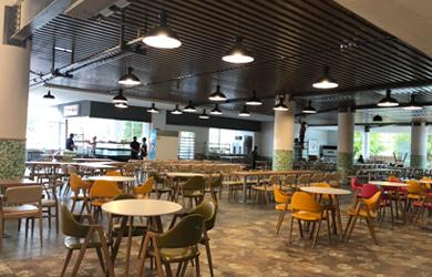 食堂设计|  岳阳职业技术学院第一食堂设计