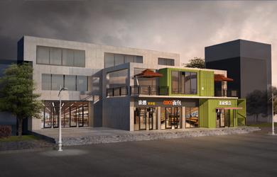 长沙大学食堂设计|  长沙大学第一食堂 设计