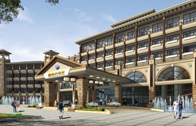 灰汤温泉大酒店设计