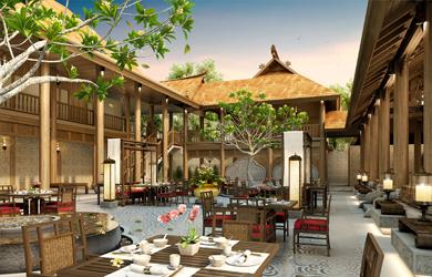 东南亚风格酒店设计