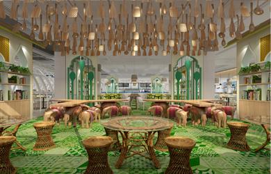 食堂设计 | 湖南高速铁路学院食堂设计