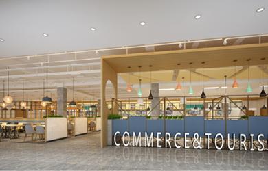 食堂设计 | 湖南商贸旅游职业技术学院食堂设计