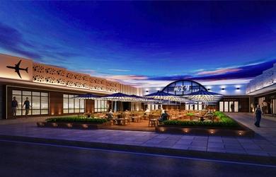 长沙航空学院第一食堂设计,学校食堂设计