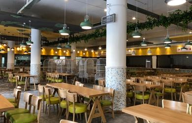 大学食堂设计|  湖南理工学院第一食堂设计