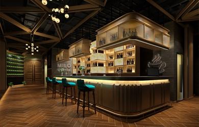 米萝咖啡品牌空间设计