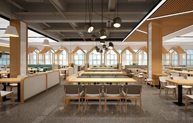 食堂设计 | 湖南食品药品职业学院食堂设计