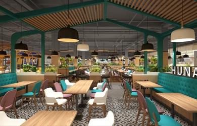食堂设计 | 怀化学院食堂设计