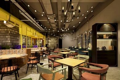 餐饮空间装饰设计